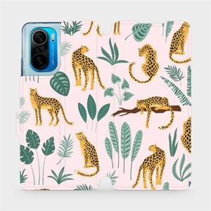 Flip pouzdro Mobiwear na mobil Xiaomi POCO F3 - MP07S Leopardi