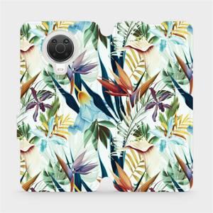 Flip pouzdro Mobiwear na mobil Nokia G20 - M071P Flóra