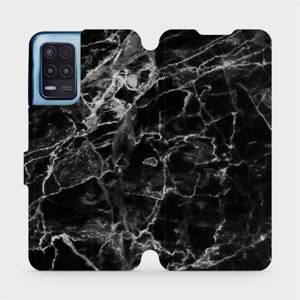 Flip pouzdro Mobiwear na mobil Realme 8 5G - V056P Černý mramor