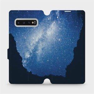 Flipové pouzdro Mobiwear na mobil Samsung Galaxy S10 Plus - M146P Galaxie