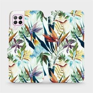 Flipové pouzdro Mobiwear na mobil Huawei P40 Lite - M071P Flóra