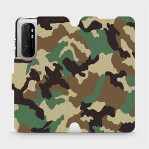 Flipové pouzdro Mobiwear na mobil Xiaomi Mi Note 10 Lite - V111P Maskáče
