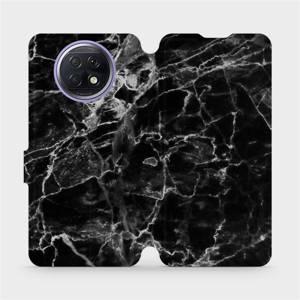 Flipové pouzdro Mobiwear na mobil Xiaomi Redmi Note 9T 5G - V056P Černý mramor