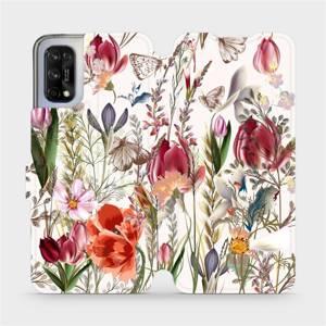 Flip pouzdro Mobiwear na mobil Realme 7 5G - MP01S Rozkvetlá louka