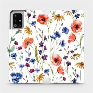 Flip pouzdro Mobiwear na mobil Samsung Galaxy M51 - MP04S Luční kvítí