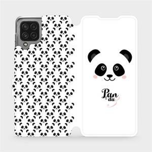 Flip pouzdro Mobiwear na mobil Samsung Galaxy M22 - M030P Panda Amálka