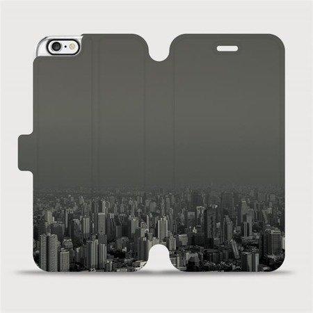 Flipové pouzdro Mobiwear na mobil Apple iPhone 6 / iPhone 6s - V063P Město v šedém hávu