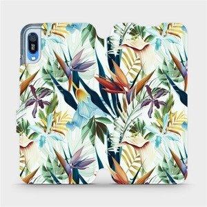 Flipové pouzdro Mobiwear na mobil Huawei Y6 2019 - M071P Flóra