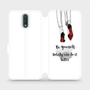 Flipové pouzdro Mobiwear na mobil Nokia 2.3 - M046P Be yourself