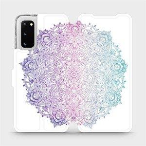 Flipové pouzdro Mobiwear na mobil Samsung Galaxy S20 - M008S Mandala