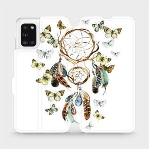 Flipové pouzdro Mobiwear na mobil Samsung Galaxy A31 - M001P Lapač a motýlci