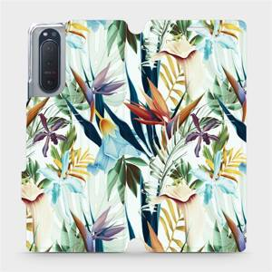 Flipové pouzdro Mobiwear na mobil Sony Xperia 5 II - M071P Flóra