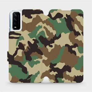 Flipové pouzdro Mobiwear na mobil Vivo Y11S - V111P Maskáče