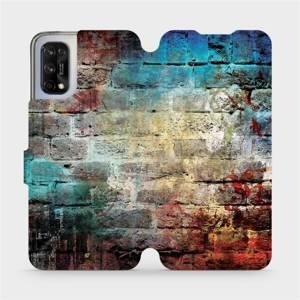 Flipové pouzdro Mobiwear na mobil Realme 7 5G - V061P Zeď