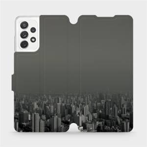 Flipové pouzdro Mobiwear na mobil Samsung galaxy A72 5G - V063P Město v šedém hávu