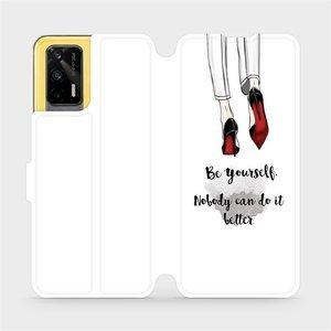 Flipové pouzdro Mobiwear na mobil Realme GT 5G - M046P Be yourself
