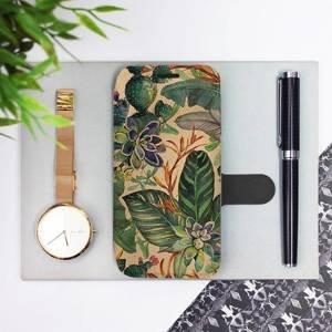 Flip pouzdro Mobiwear na mobil Samsung Galaxy M21 - VP05S Sukulenty