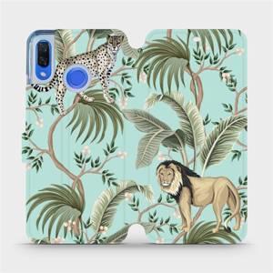 Flip pouzdro Mobiwear na mobil Huawei Nova 3 - MP08S Dvě kočičky