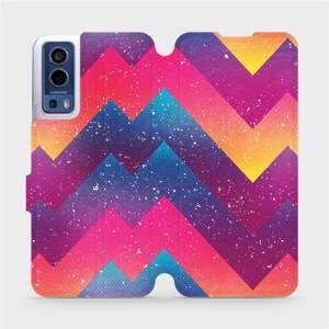 Flip pouzdro Mobiwear na mobil Vivo Y72 5G / Vivo Y52 5G - V110S Barevné klikyháky