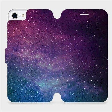 Parádní flip pouzdro Mobiwear na mobil Apple iPhone 7 - V147P Mlhovina