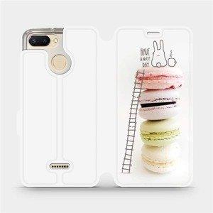 Flipové pouzdro Mobiwear na mobil Xiaomi Redmi 6 - M090P Makronky - have a nice day