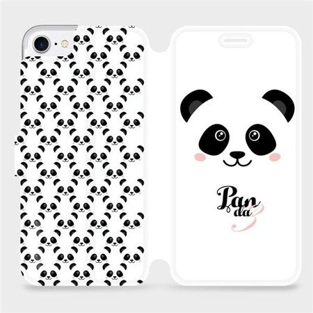Flipové pouzdro Mobiwear na mobil Apple iPhone 8 - M030P Panda Amálka