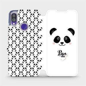 Flipové pouzdro Mobiwear na mobil Xiaomi Redmi Note 7 - M030P Panda Amálka