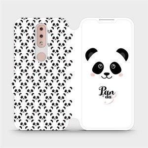 Flipové pouzdro Mobiwear na mobil Nokia 4.2 - M030P Panda Amálka