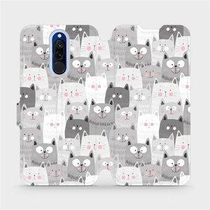 Flipové pouzdro Mobiwear na mobil Xiaomi Redmi 8 - M099P Kočičky