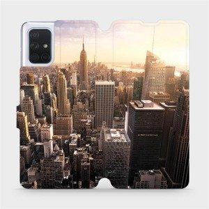 Flipové pouzdro Mobiwear na mobil Samsung Galaxy A71 - M138P New York