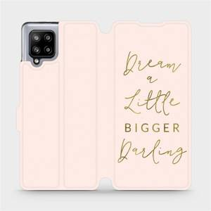 Flipové pouzdro Mobiwear na mobil Samsung Galaxy A42 5G - M014S Dream a little
