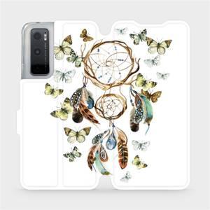 Flipové pouzdro Mobiwear na mobil Vivo Y70 - M001P Lapač a motýlci