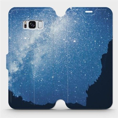Flipové pouzdro Mobiwear na mobil Samsung Galaxy S8 - M146P Galaxie
