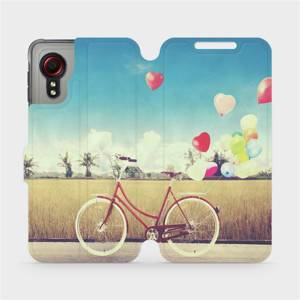 Flipové pouzdro Mobiwear na mobil Samsung Galaxy Xcover 5 - M133P Kolo a balónky