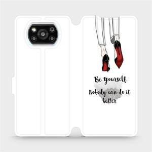 Flipové pouzdro Mobiwear na mobil Xiaomi Poco X3 Pro - M046P Be yourself