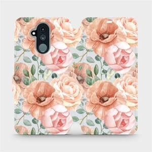 Flip pouzdro Mobiwear na mobil Huawei Mate 20 Lite - MP02S Pastelové květy