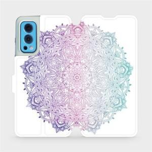Flip pouzdro Mobiwear na mobil OnePlus Nord 2 5G - M008S Mandala