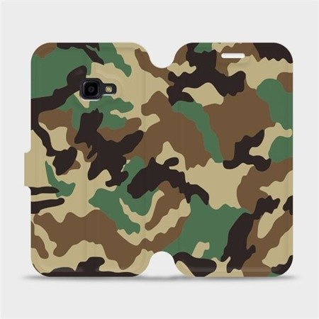Flipové pouzdro Mobiwear na mobil Samsung Xcover 4 - V111P Maskáče