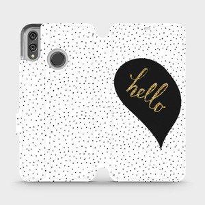 Flipové pouzdro Mobiwear na mobil Honor 8X - M013P Golden hello