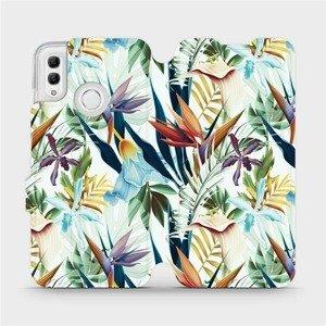 Flipové pouzdro Mobiwear na mobil Honor 10 Lite - M071P Flóra