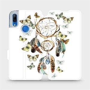 Flipové pouzdro Mobiwear na mobil Huawei P Smart Z - M001P Lapač a motýlci