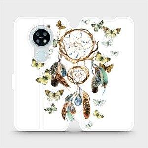 Flipové pouzdro Mobiwear na mobil Nokia 6.2 - M001P Lapač a motýlci