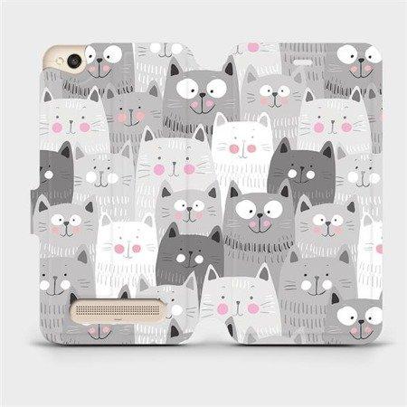 Flipové pouzdro Mobiwear na mobil Xiaomi Redmi 4A - M099P Kočičky