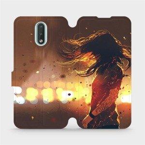 Flipové pouzdro Mobiwear na mobil Nokia 2.3 - MA02S Tetovaná dívka