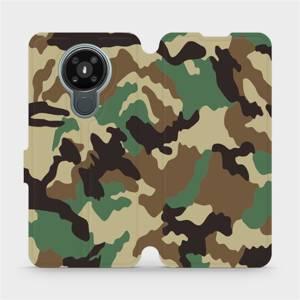 Flipové pouzdro Mobiwear na mobil Nokia 3.4 - V111P Maskáče