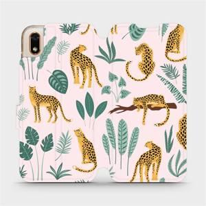 Flip pouzdro Mobiwear na mobil Huawei Y5 2019 / Honor 8S - MP07S Leopardi
