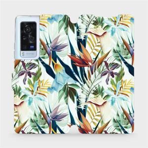 Flip pouzdro Mobiwear na mobil Vivo X60 Pro 5G - M071P Flóra