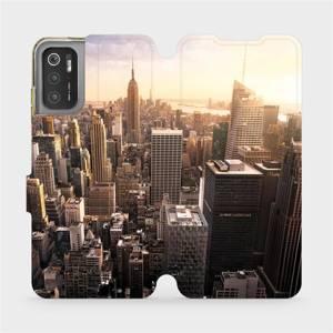 Flip pouzdro Mobiwear na mobil Xiaomi Poco M3 Pro 5G - M138P New York