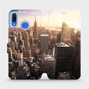 Flipové pouzdro Mobiwear na mobil Huawei Nova 3 - M138P New York