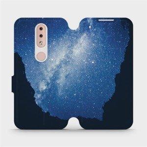Flipové pouzdro Mobiwear na mobil Nokia 4.2 - M146P Galaxie